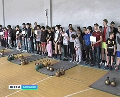 Юные гиревики из Кегульты стали лучшими на первенстве РСДЮШОР