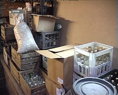 Калмыцкими полицейскими изъято более 30 тысяч литров контрафактной алкогольной продукции