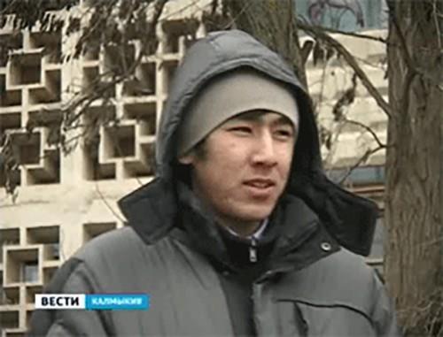 """Калмыцкий студент стал участником конкурса """"Народный герой"""""""