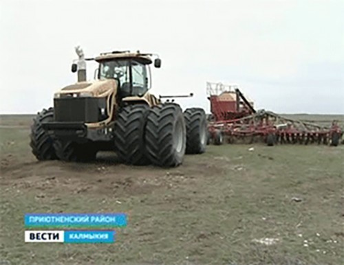 Яровой сев в Калмыкии планируется разместить на площади около 80 тысяч га