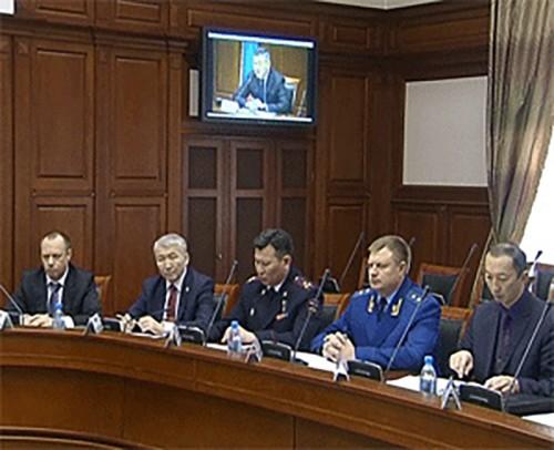 В Калмыкии прошло заседание антитеррористической комиссии