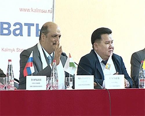 КГУ и вузы Индии будут развивать сотрудничество
