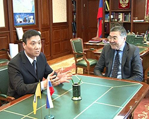 Алексей Орлов встретился с бизнесменами из Китая