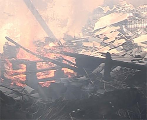 За неделю в Калмыкии зарегистрировано 2 пожара