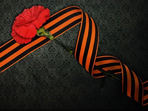 """В Элисте проходит акция """"Георгиевская ленточка"""""""