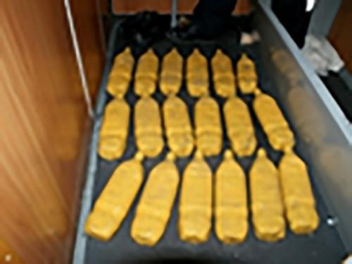 Калмыцкими пограничниками пресечена попытка провоза 80 кг героина