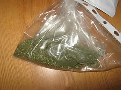 У жителя Целинного района изъяли 1, 5 кг конопли