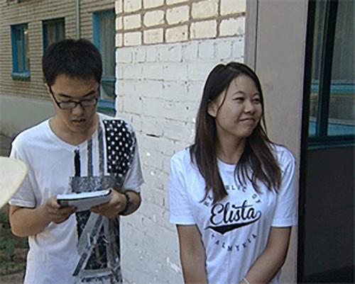 Студенты из Китая прощаются с КГУ