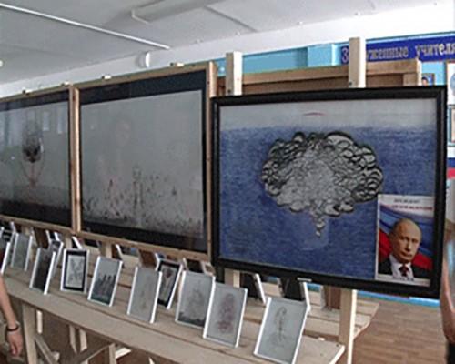 Персональная выставка Владимира Саксыкова открылась в Элисте