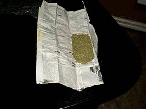 У жителя Ставропольского края изъяли газетный сверток с коноплей