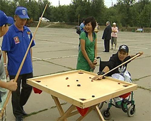На оборудование спортивных объектов для нужд инвалидов в Калмыкии будет направлено более 13 млн. рублей
