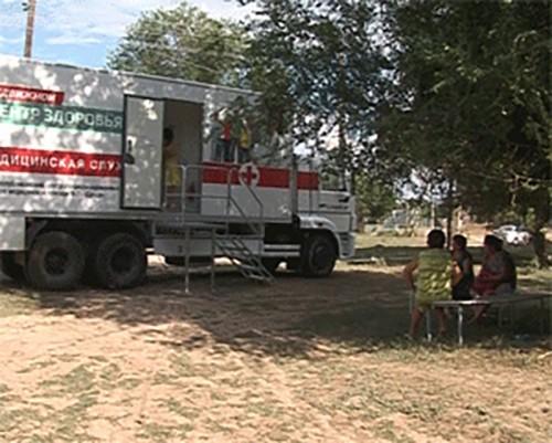 Калмыкия получила новый передвижной медицинский центр