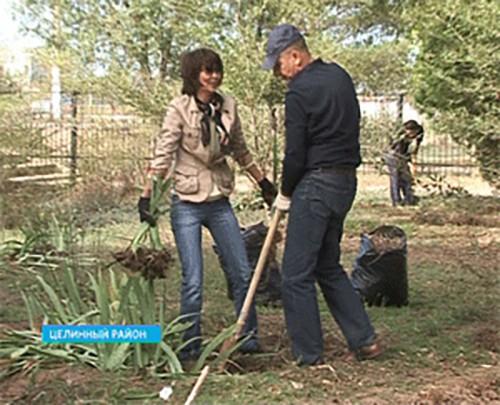 Калмыкия присоединилась к всероссийскому экологическому субботнику