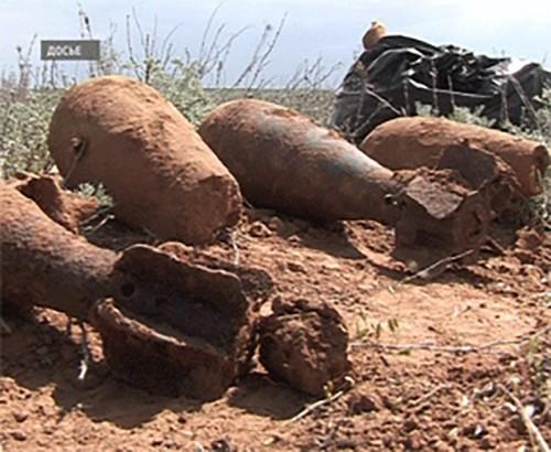 Калмыцкие поисковики обнаружили останки советских солдат
