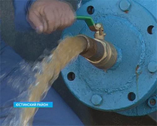 Жители пос. Эрдниевский будут обеспечены питьевой водой