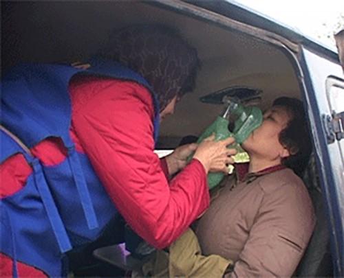 Калмыцкие спасатели ликвидировали утечку хлора на очистных сооружениях