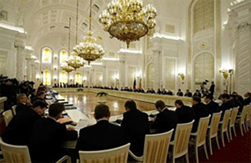 Глава Калмыкии Алексей Орлов принял участие в заседании Госсовета