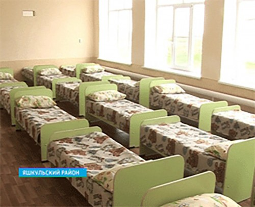 В пос. Улан-Эрге Яшкульского района через 20 лет вновь заработает детский сад