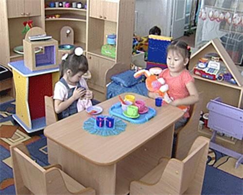 В детских садах Калмыкии создано почти 1400 дополнительных мест