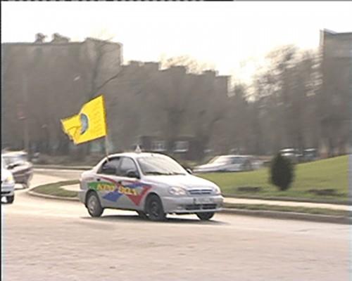 Всемирный день памяти жертв ДТП в Калмыкии отметили автопробегом