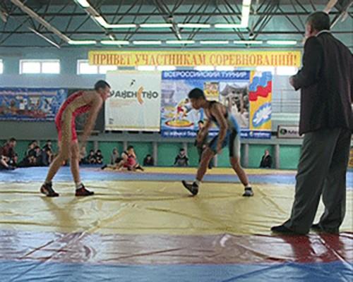 Всероссийский турнир по вольной борьбе памяти П. Какушкина собрал более 100 участников