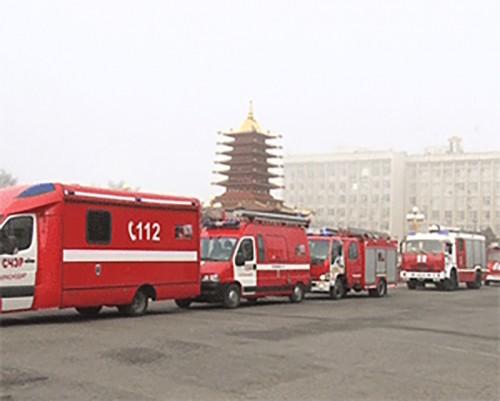 Автопробег в поддержку добровольчества проехал по дорогам Калмыкии