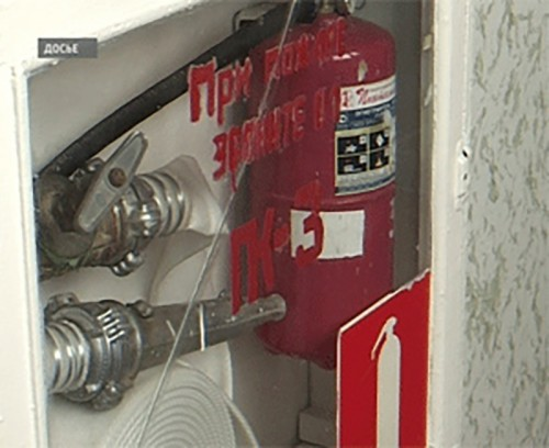 Сотрудники МЧС проводят противопожарную пропаганду среди населения