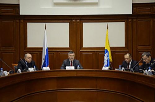 Алексей Орлов провел заседание антитеррористической комиссии