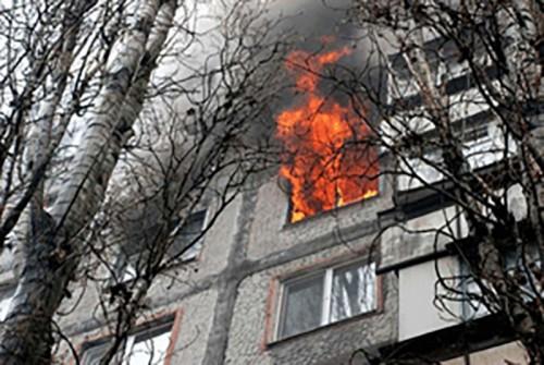 За неделю в Калмыкии зарегистрировано 3 пожара