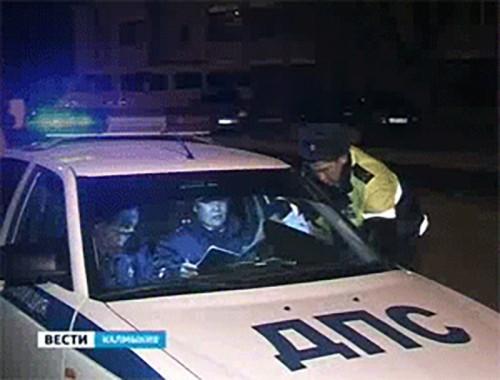 В праздничные дни в Калмыкии отстранены от управления транспортом 59 пьяных водителей