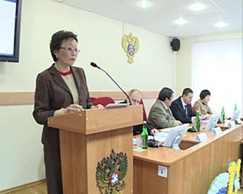 В Федеральном казначействе по Калмыкии обсудили внедрение новых казначейских технологий