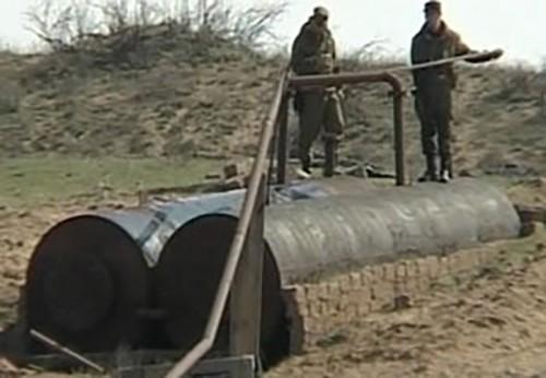В Калмыкии пресечена незаконная переработка нефти