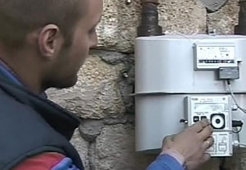 Служба реализации газа проводит контрольный рейд в жилом секторе Элисты