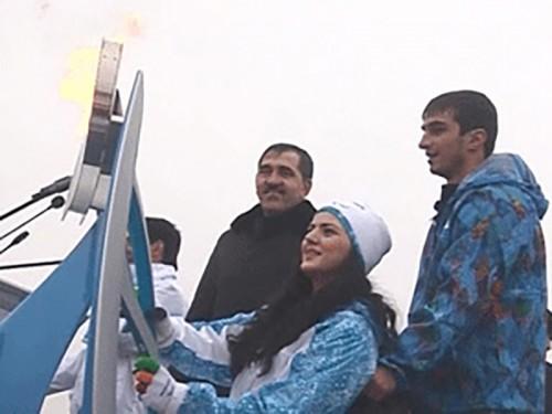 Паралимпийский огонь в Ингушетии: символ мира и добра