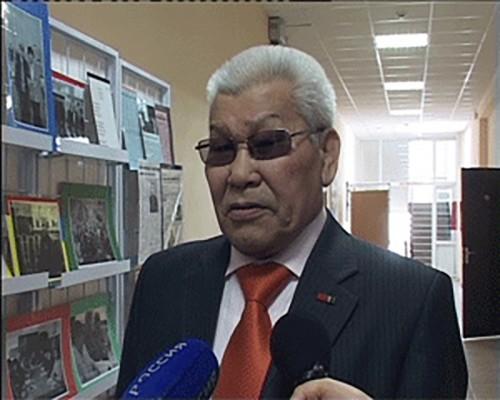 Ученый КалмГУ Андрей Бадмаев отметил 75-летний юбилей