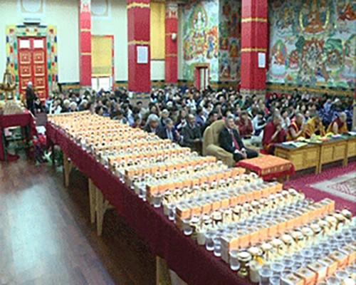 В Центральном хуруле Калмыкии готовятся к большому буддийскому празднику