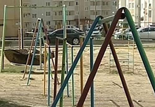 В Элисте игровые площадки опасны для жизни и здоровья детей
