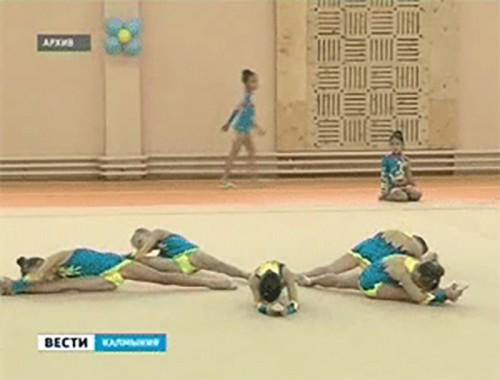 Около 300 гимнасток борются за медали открытого чемпионата в Элисте
