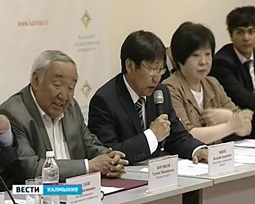Сотрудничество Калмыцкого и Атырауского университетов выходит на новый этап