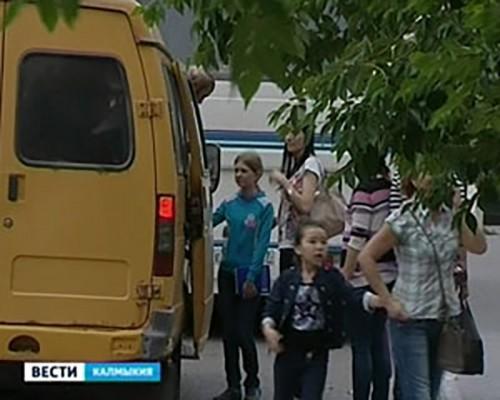 В 2014 году в Калмыкии водители автобусов совершили 18 ДТП