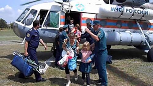 В Калмыкию доставлена ещё одна группа беженцев из Украины