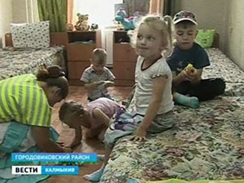 В Городовиковский район прибыла еще одна группа беженцев