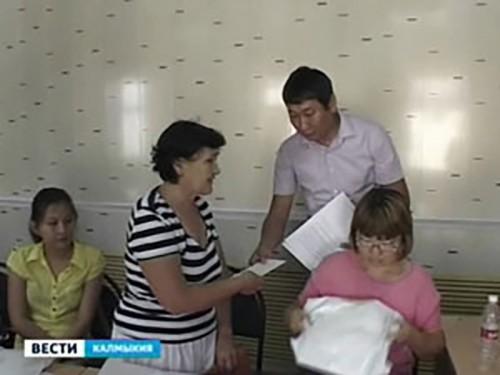 В Элисте прошла благотворительная акция «Добрая дорога детства»