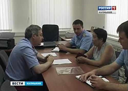 Руководитель СУ СК РФ по РК Денис Минин провел личный прием граждан