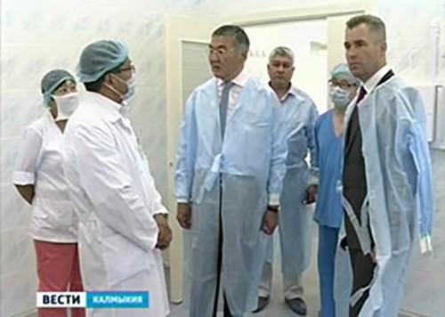 В Элисте после капитального ремонта октрылась детская республиканская больница