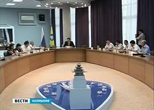 В Элисте прошло заседание совета по защите информации при Главе РК