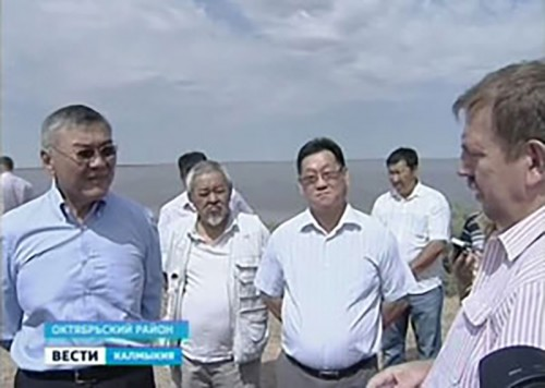 Главная задача: найти экономически выгодный вариант обводнения Калмыкии
