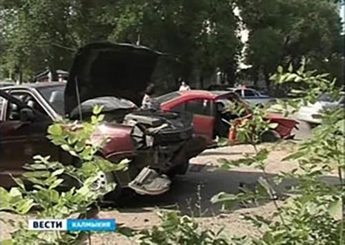 За неделю в Калмыкии зарегистрировано 16 ДТП