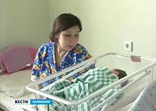 С января 2014 г. в Калмыкии появились на свет 1747 детей