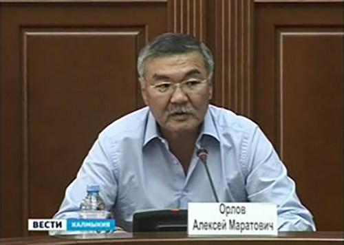Алексей Орлов подвел итоги рабочих поездок по районам Калмыкии